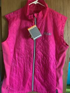 NWT Polaris Women's Quilted Vest Fitted Full Zip Warm Snowmobile Riding Plus 3X
