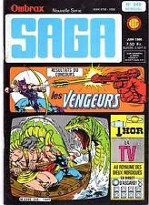 OMBRAX SAGA (SUPER HEROS) 245 LUG 1986 TBE