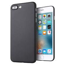 Apple iPhone 7 / 8 Plus + (5,5) ultra dünne Schutzhülle / Hülle in Schwarz