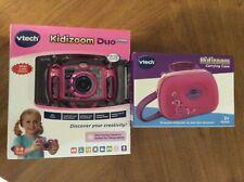 VTech Kidizoom 5.0 Deluxe Digital Selfie Camera W/ MP3 Player, Headphones, Case