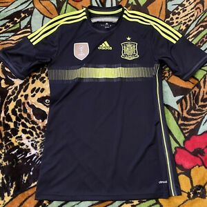 Adidas 2010 Fifa World Cup Champions Spain Futbol Soccer Jersey Mens Size S