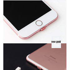 Phone Dust Plug Port Cover Charging Data Metal Protector For iPhone 7 7 Plus 5.5