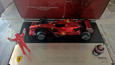 FERRARI F2007 KIMI RAIKKONEN DRIVER'S CHAMPION  HOT WHEELS 1/18