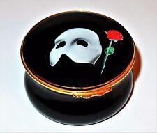 Kingsley/Moorcroft Enamel Box - Phantom Of The Opera - Musical Show - Movie