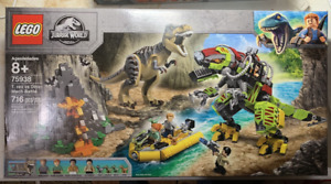 LEGO Jurassic World set 75938 T.rex vs Dino-Mech Battle NIB