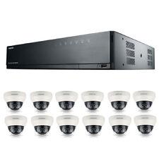 SAMSUNG 16channel POE NVR 3TB con 12 TELECAMERE CCTV 3yr Warranty libero CCTV segno