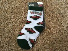 NHL Minnesota WILD Toddler Socks Size 3-8-BNWTs
