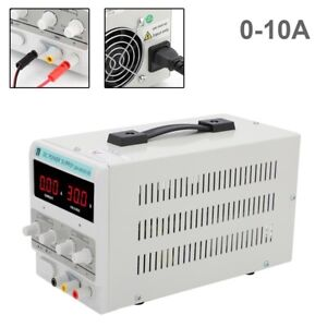 Neu Labornetzgerät Labornetzteil DC Trafo Regelbar Netzteil 0-30V 0-10A 300W