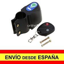 Candado Alarma Antirrobo con mando para Bicicleta Moto Sonora a2754