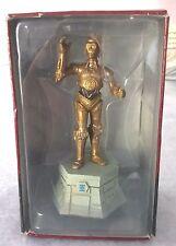 Figurine STAR WARS C3-PO en plomb pour Jeu d'echec et son fasicule n°3