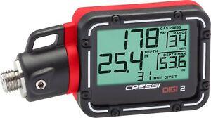 Cressi Digi 2 - Digitales Finimeter (Druckmessgerät)