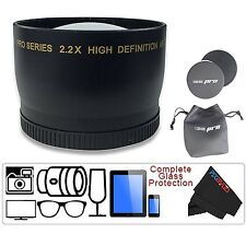 I3ePro 58MM 2.2X Telephoto Zoom Lens for Canon EOS Rebel T6i T6s T5i T5 T4i T3i