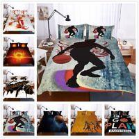 3D Player Basketball Sports Bedding Set Quilt/Duvet/Comforter Cover Pillowcase