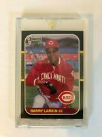 1987  DONRUSS #492  BARRY LARKIN RC CINCINNATI REDS MINT