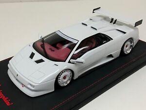 1/18 GT Spirit Lamborghini Diablo K.O.  in White from 2018  GT330 Customized