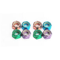 8PCS Skateboard Multicolore Roue Noix Vis Ou 16PCS Rondelles Sport Accessoire M8