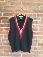 Ballantyne Men's Cashmere Sweater Vest, Size Medium, Made In Scotland