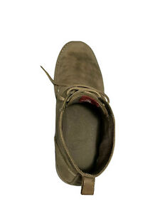 Original Penguin Merle Suede Chukka Boots Casual Dress Brown Leather Mens Sz 11