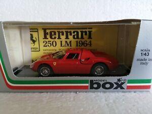 "BOX MODEL 8434 FERRARI 250 LM ""Prova"" - DIECAST 1/43"