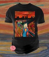 New Superman Mens Abstract The Scream Luther Classic T-Shirt