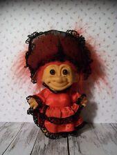 "5"" Red Haired Russ Trolls Around The World, Spain - Senorita, Saloon/Parlor Girl"