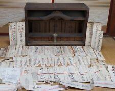 Antique Kamidana altar Japanese Shinto shrine 1800s Japan traditional Shamanism