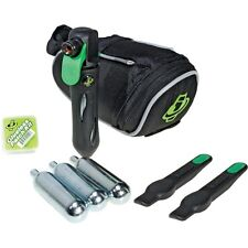 Genuine Innovations Road Bike Seat Bag Tyre Inflation Kit Deluxe CO2 Repair Kit
