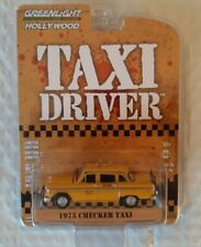Taxi Driver 1975 Checker Taxi series 26 Greenlight diecast 1:64