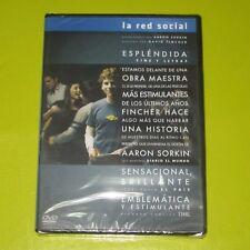 DVD.- LA RED SOCIAL - DAVID FINCHER - JESSE EISENBERG - JUSTIN TIMBERLAKE -NUEVA