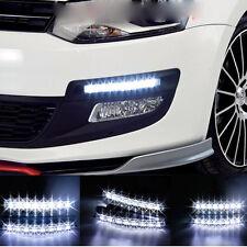 8 LED  DC 12V CAR WATERPROOF DRL FOG LAMP LIGHT  DAYTIME DRIVING RUNNING LIGHT