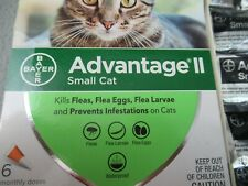 Bayer Advantage Ii for Small Cat 5 - 9 lbs 6 Monthly Doses for Fleas