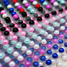160 6mm PEARL STICKERS SINGLE Self Adhesive Stick On Gem Craft Beads Sheet