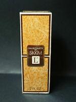 SIKKIM LANCOME EAU DE TOILETTE 2 FL. OZ Pour Femme SPLASH EDT Vintage