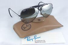 NEW! NOS! Vintage Ray Ban B&L USA Shooter Double Gradient Mirror Black/ Chrome
