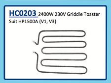 2400W 230V GRIDDLE TOASTER HP1500A (V1,V3) HC0203