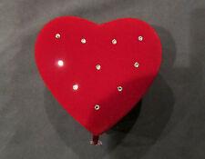 Swarovski Red Heart Jewelry Box NEW