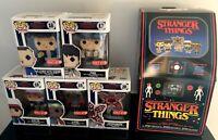 Stranger Things Funko POP! Vinyl 8-Bit Exclusive 5 Pack Arcade Box NEW IN BOX