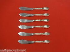 Victoria aka Florence by Frank Whiting Sterling Trout Knife Set 6pc HHWS  Custom