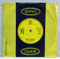 """Tammy Wynette - Stand by your man - 7"""" vinyl 45 RPM record Epic S EPC 7137"""