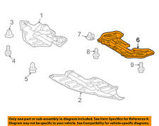 TOYOTA OEM 09-11 Venza Splash Shield-Rear Under Engine Shield 514430T010