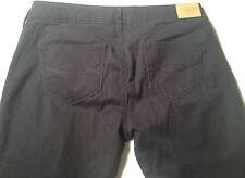 EUC - RRP $279 - Womens Abercrombie & Fitch 'Stretch' Black Pants Jeans Size 29