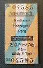 Eisenbahn Fahrkarte  1977   Mauthausen - Perg