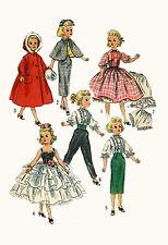 "Revlon Dollikin Cissy Sweet Sue Sophisticate 21"" Doll Clothing PATTERN 2293 muff"