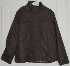 veste anorak capuche marron regatta 12 ans