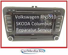 VW RNS510 RNS 510 Navigation Navi Reparatur Golf 6 Passat Tiguan Touran EOS CC