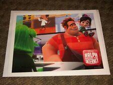 "Disney Movie Club Wreck It Ralph Breaks the Internet movie lithograph 5"" x 7"""