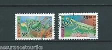 BULGARIE - 1992 YT 3476A à 3476B - TIMBRES OBL. / USED - COTE 5,50 €