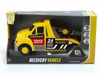 Récupération Véhicule Remorquage Camion Clignotant Feux Sons Friction Motor Kids