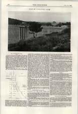 1897 The Muchkundi Dam Descriptions Coalmine Explosives