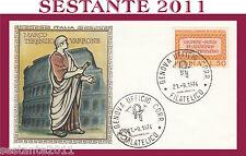 ITALIA FDC FILAGRANO  1974  MARCO TERENZIO VARRONE  ANNULLO GENOVA H156